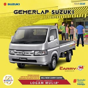 Gemerlap Suzuki New Carry Pick Up Luxury hadiah langsung logam mulia