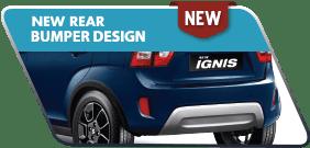 New Ignis New Rear Bumper Design