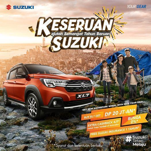 Kejutan Semangat Tahun Baruan bareng Suzuki tumbnail google
