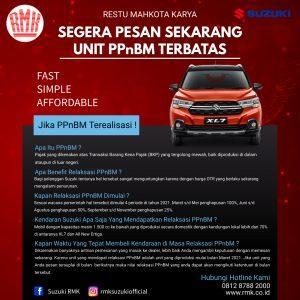 PPnBM Terbatas Suzuki RMK