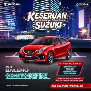 New Baleno GRATIS Iphone RMK