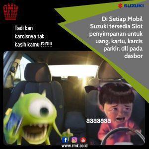 Slot penyimpanan Suzuki RMK