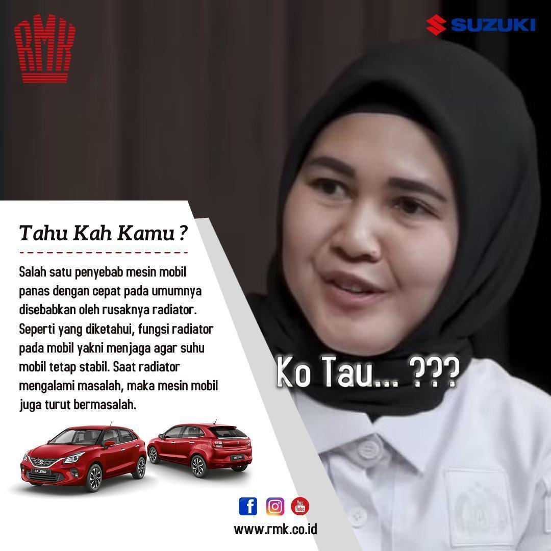Ko Tau Radiator, Suzuki RMK