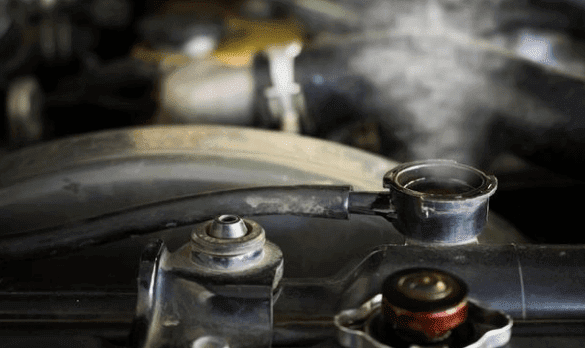 Radiator Overheat Suzuki RMK