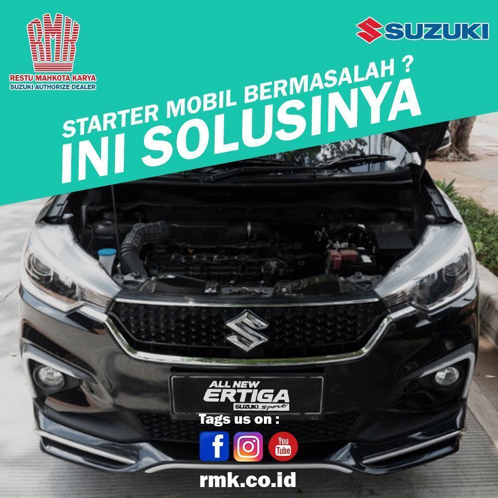 Mobil Tidak Bisa di Starter Suzuki RMK