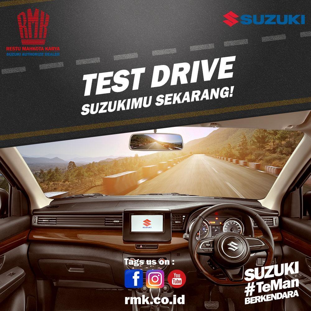 Test Drive Suzuki RMK
