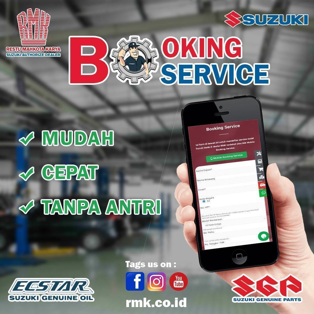 booking service suzuki RMK